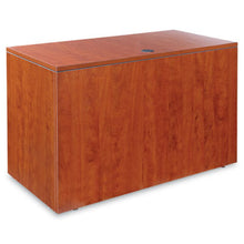 Load image into Gallery viewer, Alera Valencia Series Reversible Return/bridge Shell, 47 1/4w X 23 5/8d, Cherry