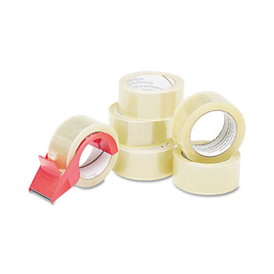 7510015796873 SKILCRAFT COMMERCIAL PACKAGE SEALING TAPE WITH HANDHELD DISPENSER, 3