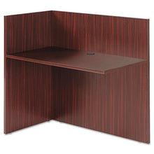 Load image into Gallery viewer, Alera Valencia Reversible Reception Return, 44w X 23 5/8d X 41 1/2h, Mahogany