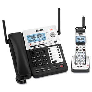 Sb67138 Dect 6.0 Phone/answering System, 4 Line, 1 Corded/1 Cordless Handset