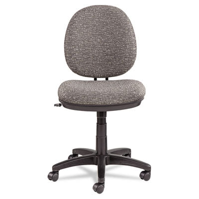 Alera Interval Swivel/tilt Task Chair, Tone-On-Tone Fabric, Graphite Gray