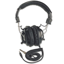 Load image into Gallery viewer, Deluxe Stereo Headphones W/mono Volume Control, Black