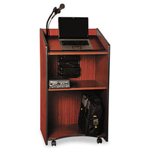 Load image into Gallery viewer, Presidential Plus Wireless Lectern, 25-1/2w X 20-1/2d X 46-1/2h, Mahogany