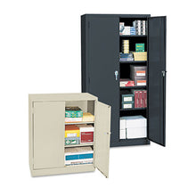 Load image into Gallery viewer, Economy Assembled Storage Cabinet, 36w X 18d X 42h, Putty