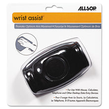 Load image into Gallery viewer, Wrist Assist Memory Foam Ergonomic Wrist Rest, Black