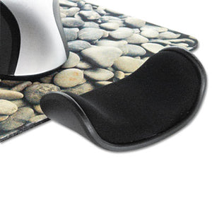 Wrist Assist Memory Foam Ergonomic Wrist Rest, Black