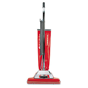 "TRADITION UPRIGHT VACUUM, 16"" WIDE PATH, 18.5 LB, RED"