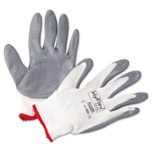 Load image into Gallery viewer, Hyflex Foam Gloves, White/gray, Size 7, 12 Pairs