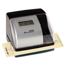 Load image into Gallery viewer, Es700 Digital Automatictime Recorder, Silver And Black