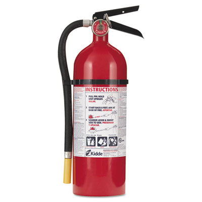 Proline Pro 5 Multi-Purpose Dry Chemical Fire Extinguisher, 8.5lb, 3-A, 40-B:c