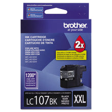 Load image into Gallery viewer, LC107BK INNOBELLA SUPER HIGH-YIELD INK, 1200 PAGE-YIELD, BLACK