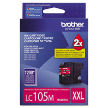Load image into Gallery viewer, LC105M INNOBELLA SUPER HIGH-YIELD INK, 1200 PAGE-YIELD, MAGENTA