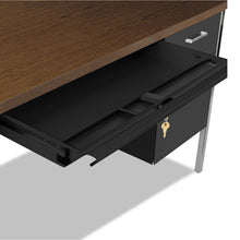 Load image into Gallery viewer, DOUBLE PEDESTAL STEEL DESK, METAL DESK, 72W X 36D X 29-1/2H, MOCHA/BLACK