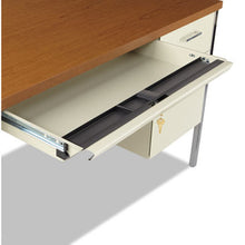 Load image into Gallery viewer, Double Pedestal Steel Desk, Metal Desk, 72w X 36d X 29-1/2h, Cherry/putty