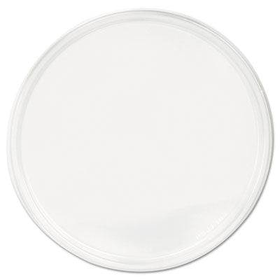 Polypro Microwavable Deli Container Lids, Clear, 500/carton