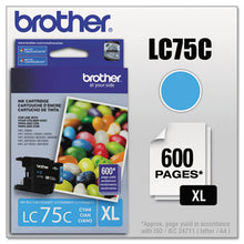 Load image into Gallery viewer, LC75C INNOBELLA HIGH-YIELD INK, 600 PAGE-YIELD, CYAN