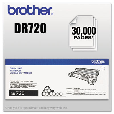 DR720 DRUM UNIT, 30000 PAGE-YIELD