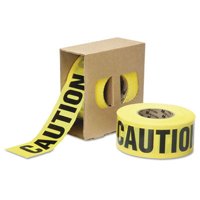 9905016134244, SKILCRAFT, CAUTION BARRICADE TAPE, 2 MIL THICK, 3