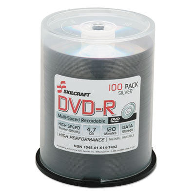 7045016147492, DVD-R RECORDABLE DISC, 4.7GB/120MIN, 16X, SPINDLE