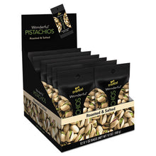 Load image into Gallery viewer, Wonderful Pistachios, Salt & Pepper, 1.25oz Pack, 12/box