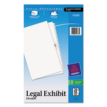 Load image into Gallery viewer, Avery-Style Legal Exhibit Side Tab Divider, Title: 26-50, 14 X 8 1/2, White