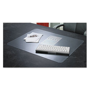 Krystalview Desk Pad With Microban, 22 X 17, Clear