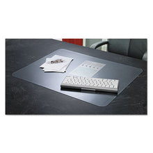 Load image into Gallery viewer, Krystalview Desk Pad With Microban, 24 X 19, Matte, Clear
