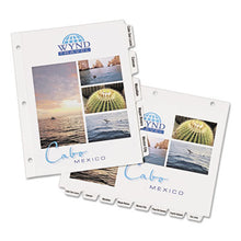 Load image into Gallery viewer, Customizable Print-On Dividers, Letter, 5-Tabs/set, 25 Sets/pack