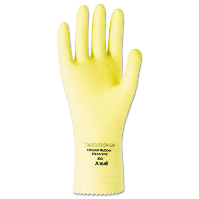 Technicians Latex/neoprene Blend Gloves, Size 7, 12 Pairs