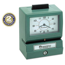 Load image into Gallery viewer, Model 125 Analog Manual Print Time Clock With Month/date/0-12 Hours/minutes
