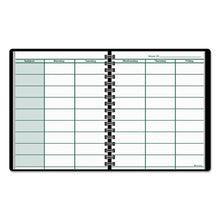 Load image into Gallery viewer, Undated Teacher's Planner, 10 7/8 X 8 1/4, Black