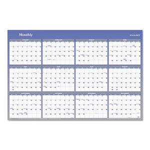 VERTICAL/HORIZONTAL ERASABLE WALL PLANNER, 32 X 48, 2019