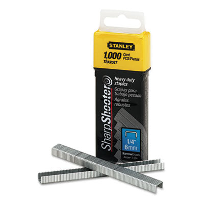 Sharpshooter Heavy-Duty Tacker Staples, 1/4