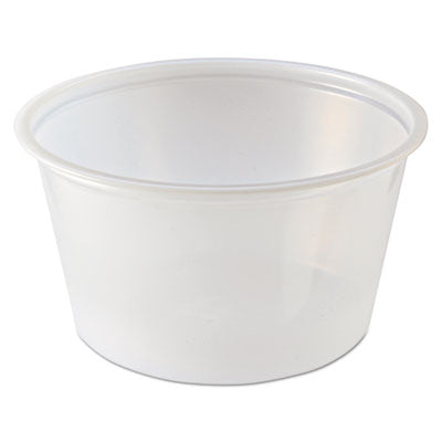 Portion Cups, 2 Oz, Clear, 2500/carton
