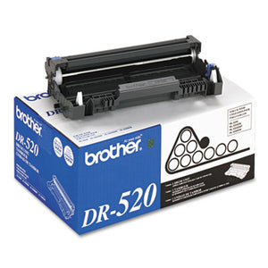 DR520 DRUM UNIT, 25000 PAGE-YIELD, BLACK