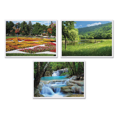 SUMMER MULTI-PACK PLACEMATS, 10 X 14, THREE DIFFERENT SCENES, 1,000/CARTON