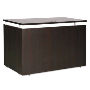 Alera Sedina Series Reversible Return/bridge,47 1/4w X23 5/8d X 29 1/2h,espresso