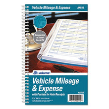 Load image into Gallery viewer, Vehicle Mileage And Expense Book, 5 1/4 X 8 1/2, 49 Forms, 63 Pages