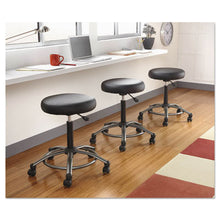 Load image into Gallery viewer, Height-Adjustable Utility Stool, Black