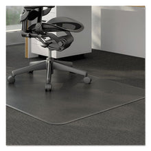 Load image into Gallery viewer, MODERATE USE STUDDED CHAIR MAT FOR LOW PILE CARPET, 46 X 60, RECTANGULAR, CLEAR
