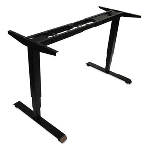 "Adaptivergo 3-Stage Electric Table Base W/memory Controls, 25"" To 50 3/4"", Black"