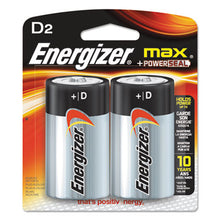 Load image into Gallery viewer, Max Alkaline Batteries, D, 2 Batteries/pack
