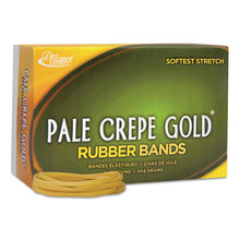 Load image into Gallery viewer, Pale Crepe Gold Rubber Bands, Sz. 33, 3-1/2 X 1/8, 1lb Box