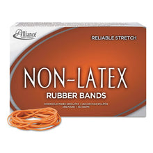 Load image into Gallery viewer, Non-Latex Rubber Bands, Sz. 19, Orange, 3-1/2 X 1/16, 1440 Bands/1lb Box