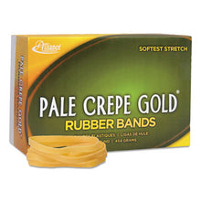 Load image into Gallery viewer, Pale Crepe Gold Rubber Bands, Sz. 64, 3-1/2 X 1/4, 1lb Box