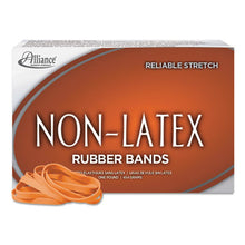 Load image into Gallery viewer, Non-Latex Rubber Bands, Sz. 64, Orange, 3 1/2 X 1/4, 380 Bands/1lb Box