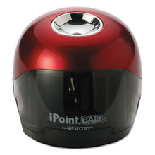 Load image into Gallery viewer, IPOINT BALL BATTERY SHARPENER, RED/BLACK, 3W X 3D X 3 1/3H