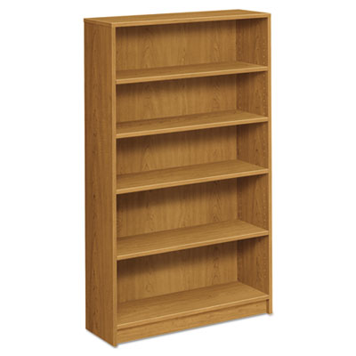 1870 Series Bookcase, Five Shelf, 36w X 11 1/2d X 60 1/8h, Harvest