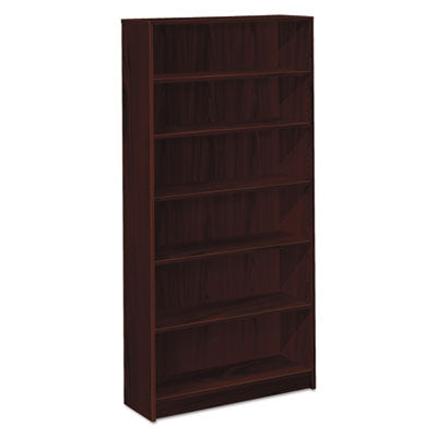 1870 Series Bookcase, Six Shelf, 36w X 11 1/2d X 72 5/8h, Mahogany