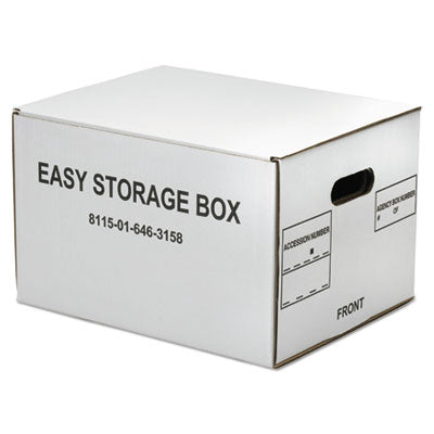 8115016463158 SKILCRAFT EASY STORAGE BOX, LETTER/LEGAL FILES, 14.75